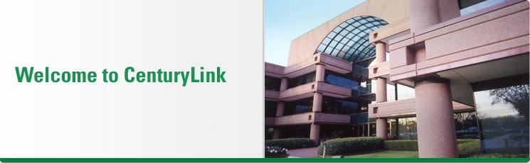 Welcome to CenturyLink