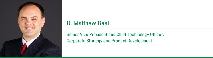 O. Matthew Beal, Senior Vice President and Chief Technology Officer, Corporate Strategy and Product Development. Joined CenturyTel: 2008