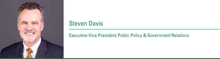 Steven Davis, Executive Vice President, Public Policy and Government Relations