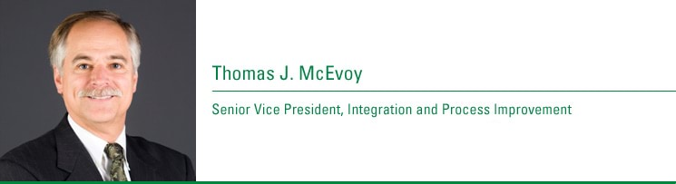 Thomas J. McEvoy, Senior Vice President, Integration and Process Improvement. Joined CenturyTel: 2006