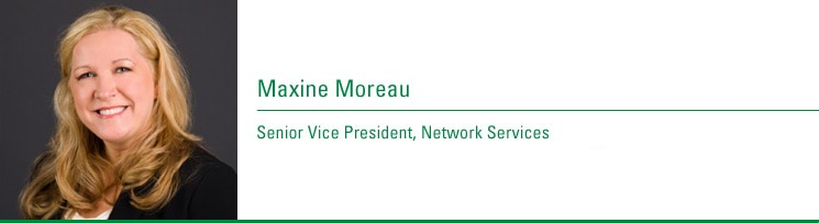 Maxine Moreau, Senior Vice President, Network Services. Joined CenturyTel: 1983, 2003