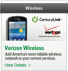 Wireless | Verizon Wireless | Add America's most reliable wireless network to your current services. | View Details >