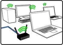 info graphic of wireless