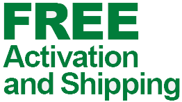 FREE Activation and Shipping